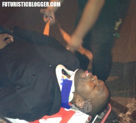 50 Cent Hospitalized After Car Accident