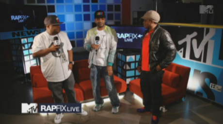Jim Jones & Fred The Godson – MTV RapFix Live Freestyle