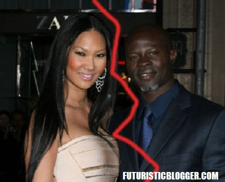 Kimora Lee Simmons and Djimon Hounsou divorce??
