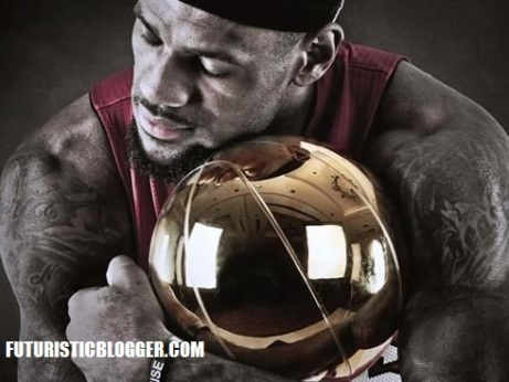 LeBron James Wins His First NBA title