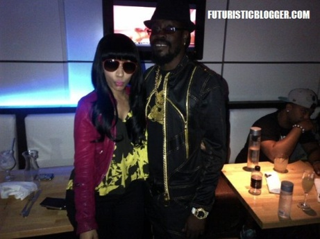 Nicki Minaj and Beanie Man