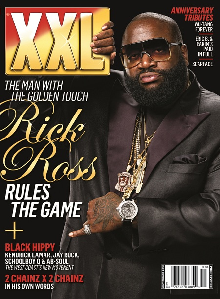 Rick Ross Covers XXL's July/August 2012 Issue