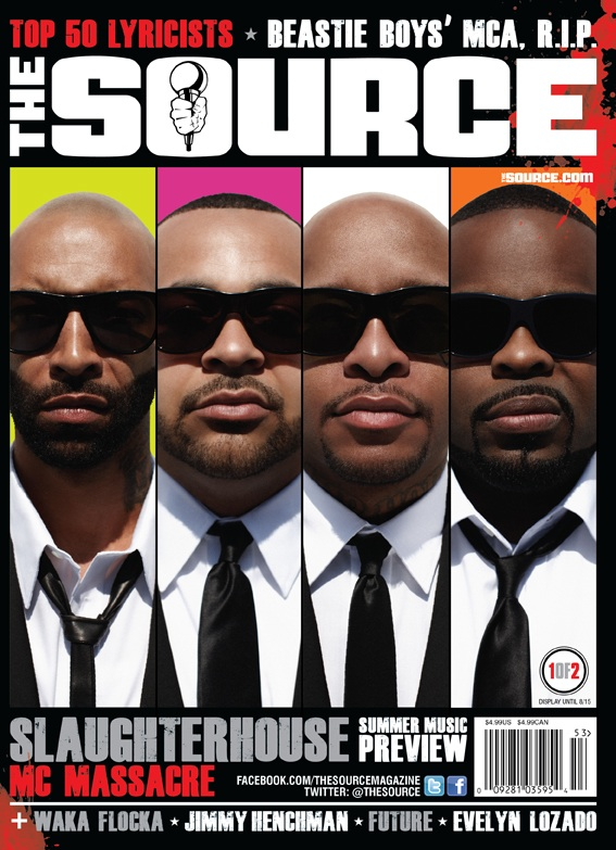 Slaughterhouse Source Magazine Cover