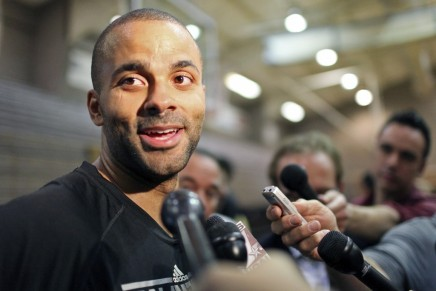 Tony Parker Injured In Drake and Chris Brown Fight!!