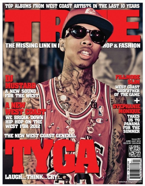 Tyga Grace The Cover Of True Magazine