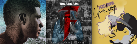 Usher, Waka Flocka Flame & Kid Ink First Week Album Sales