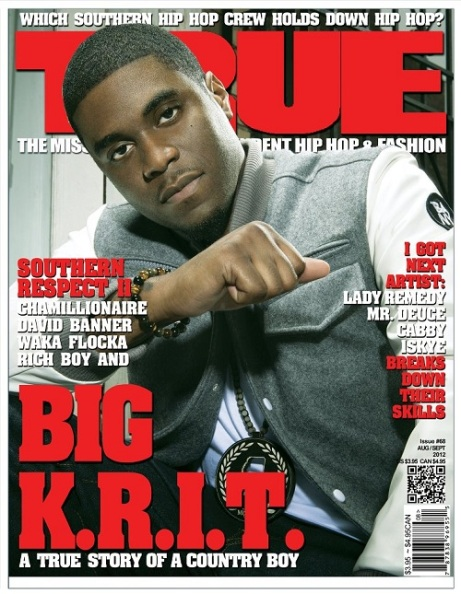 Big K.R.I.T Covers TRUE Magazine