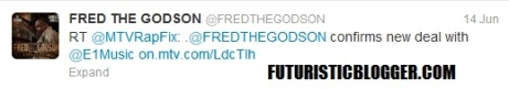 Fred The Godson Mixtape Pushed Back