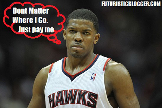 Joe Johnson is OUT Of Atlanta