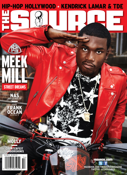 Meek Mill Covers The Source Magazine