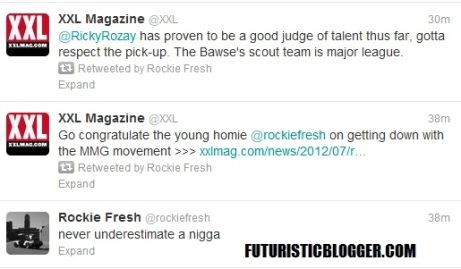 Rick Ross Signs Rockie Fresh To Maybach Music Group