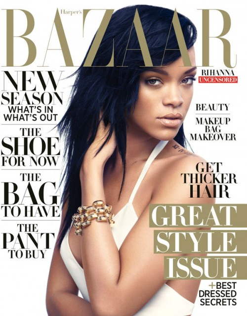 Rihanna On The Cover Of BAZAAR Magazine