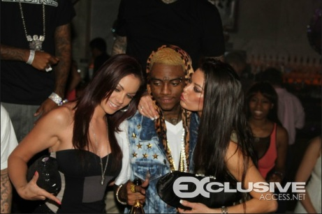 Soulja Boy Blonde Hair Cheetah Photos