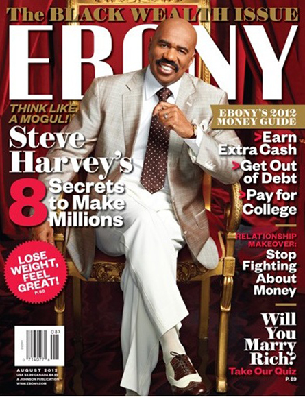 Steve Harvey Covers Ebony Magazine