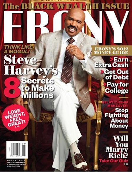 Steve Harvey Covers Ebony Magazine