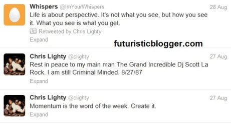 chris lighty last tweet