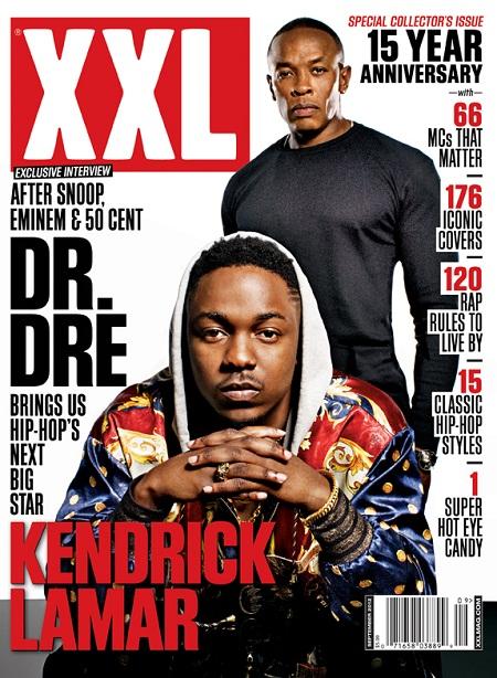 Kendrick Lamar & Dr. Dre Cover's XXL 15th Anniversary Issue