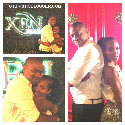 Jada and Duane Martin