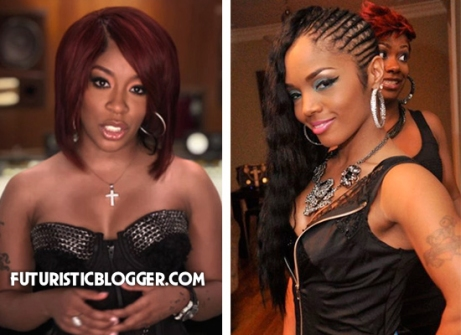 K Michelle Fist Fight With Rasheeda.