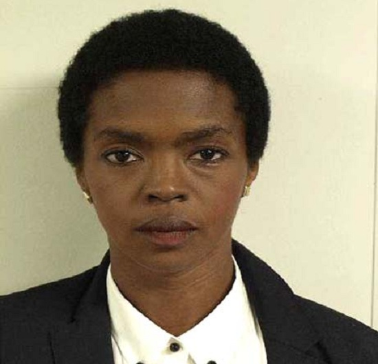 Lauryn Hill's Mugshot