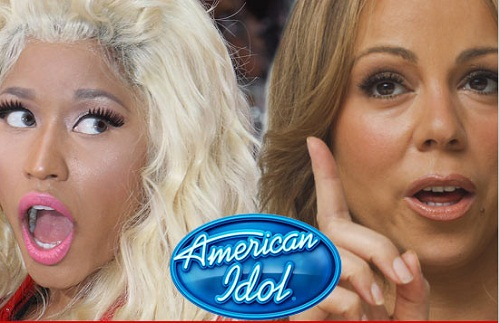 Mariah Carey Upset With Nicki Minaj As American Idol Judge