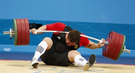 Matthias Steiner weightlifter DROPS 432lb On His Neck