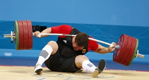 Matthias Steiner weightlifter DROPS 432lb On His Neck