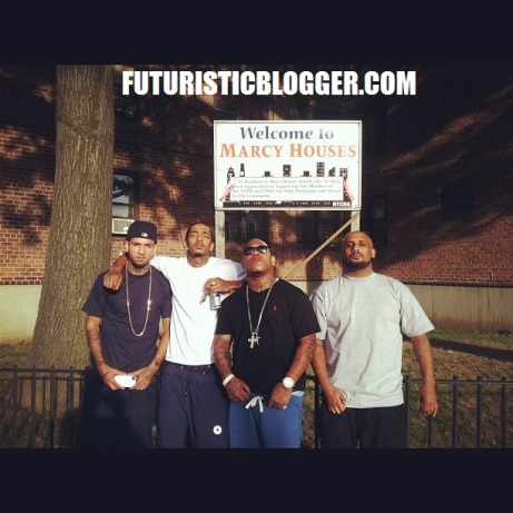 Nipsey Hussle In Marcy Projects Brooklyn New York!!