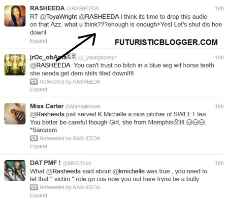 RASHEEDA K MICHELLE DISS SONG