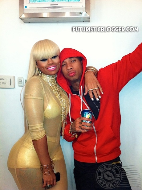 Tyga and Blac Chyna Are not Engaged + Tyga Diss Bloggers