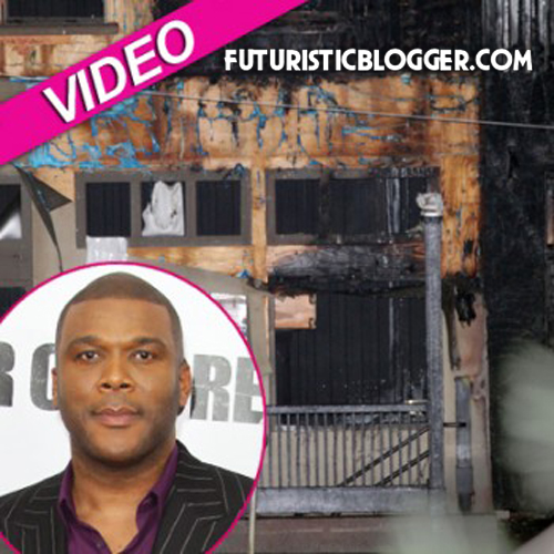 tyler perry studio on fire again