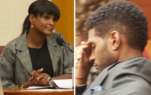 Usher Ordered To Turn Ex Wife Tameka's Saks Credit Card Back On