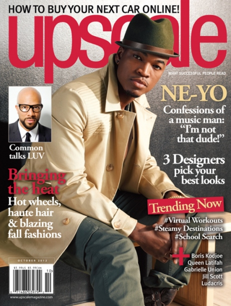 NeYo Upscale magazine cover