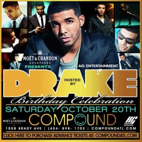 Drake Compound Birthday Party October 24th 2012