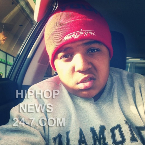 Biggie Small Son CJ Rapping Now Listen Here